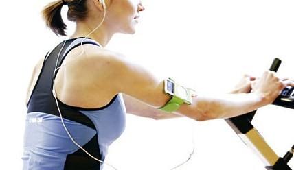 μουσική κατά την άσκηση