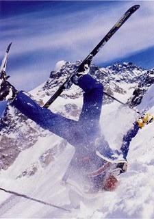 χειμερινά αθλήματα - τραυματισμοί