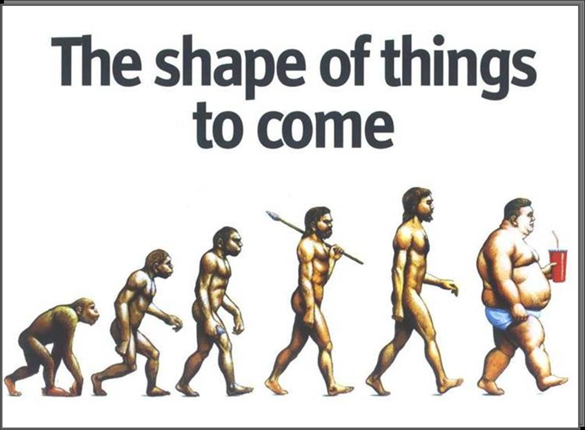 παχυσαρκία και εξέλιξη