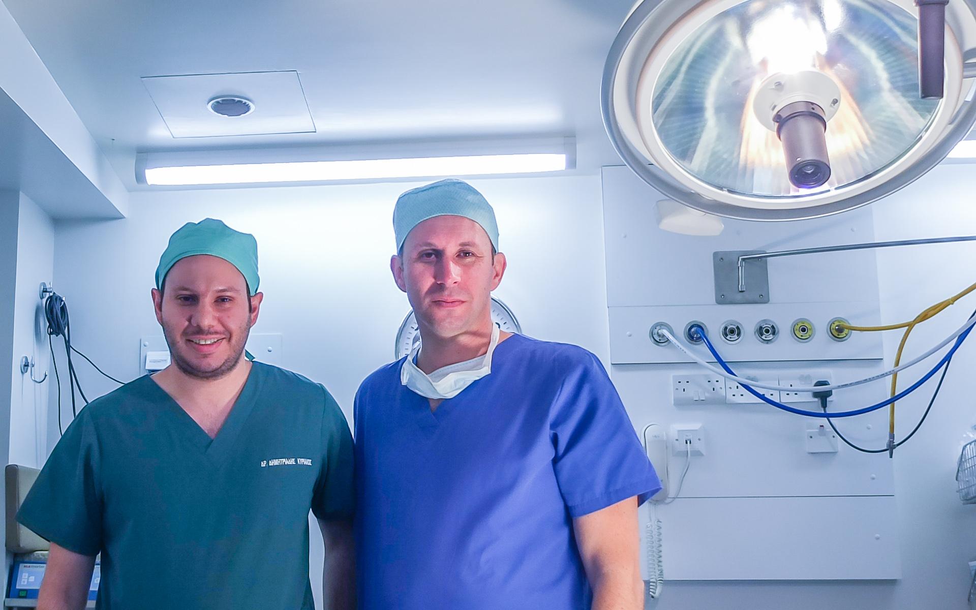 Χειρουργεία σπονδυλικής στήλης στην Κύπρο
