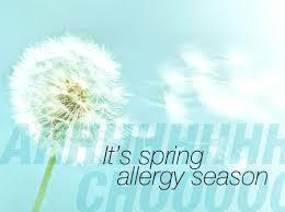 αλλεργία την άνοιξη